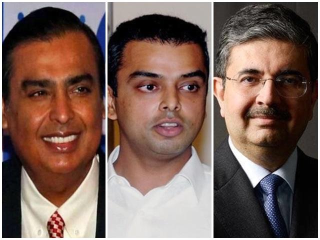 मुकेश अंबानी और उदय कोटक ने किया कांग्रेस उम्मीदवार मिलिंद देवड़ा का समर्थन