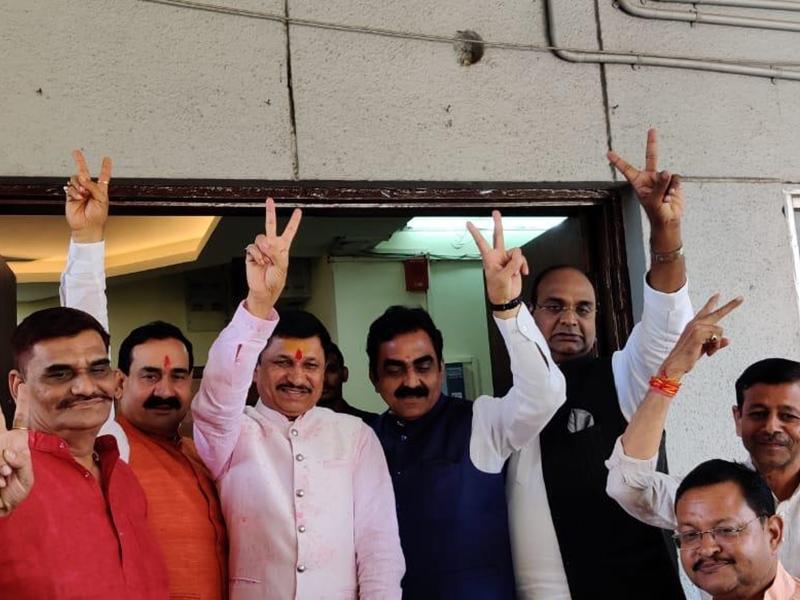 भाजपा के बागी विधायक ने फिर हुई 'घर वापसी', बोले- मैं तो कांग्रेस में कभी गया ही नहीं
