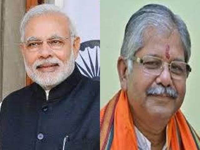 Lok Sabha Elections 2019 :  PM मोदी ने मंच पर कौशिक से पूछा 11 लोकसभा सीटों का चुनावी हाल