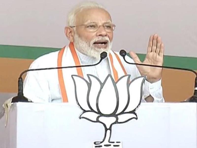 PM Maharashtra Rally:  शरद पवार में कार्यकर्ता को मारी कोहनी तो पीएम ने कसा तंज
