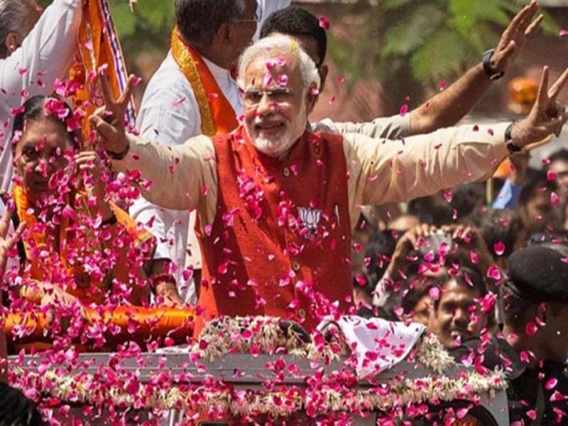 PM Modi's Swearing-in Ceremony: पढ़िए मोदी की कहानी, जनता के विश्वास को जनादेश में बदला