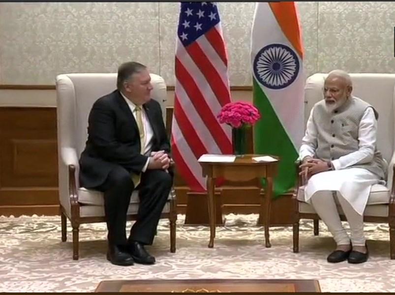 अमेरिकी विदेश मंत्री पोंपियो ने पीएम मोदी के बाद विदेश मंत्री एस जयशंकर से भी की मुलाकात