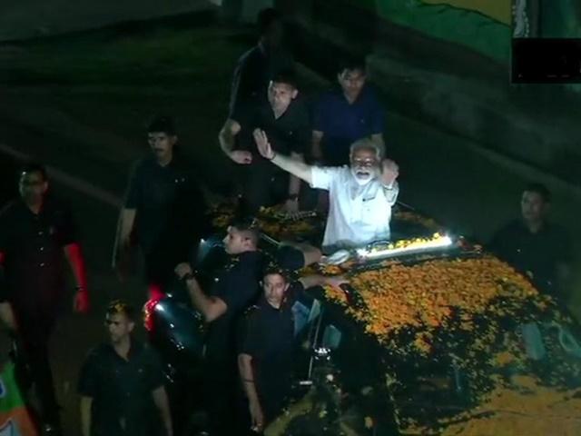 PM Modi in Ranchi: रांची में पीएम मोदी के रोड शो में उमड़ा लोगों का हुजूम