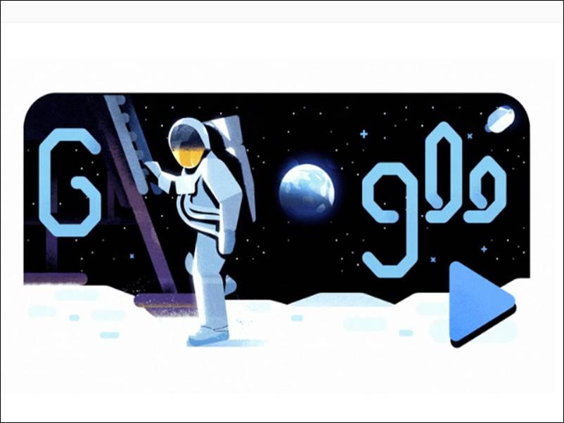 50th Anniversary of Moon Landing : Google मना रहा मून मिशन की सालगिरह, बनाया स्पेशल डूडल