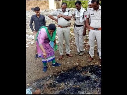 ऑनर किलिंग : मुरैना में प्रेमी संग भागी युवती को मारकर जलाया