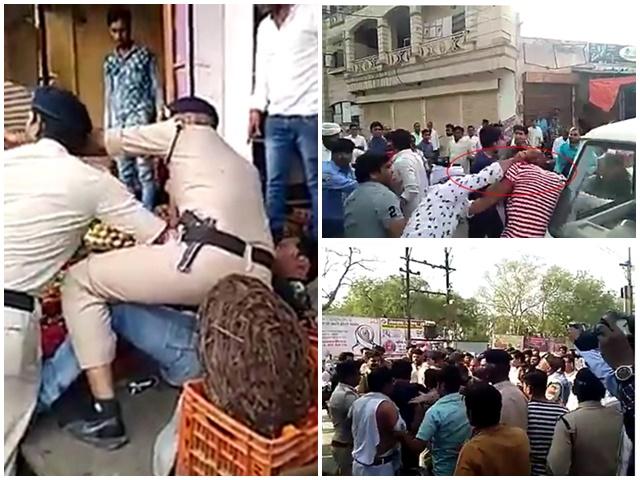 Morena Loksabha Election: जब बीच सड़क कांग्रेस नेताओं के बीच चले जूते, देखें VIDEO