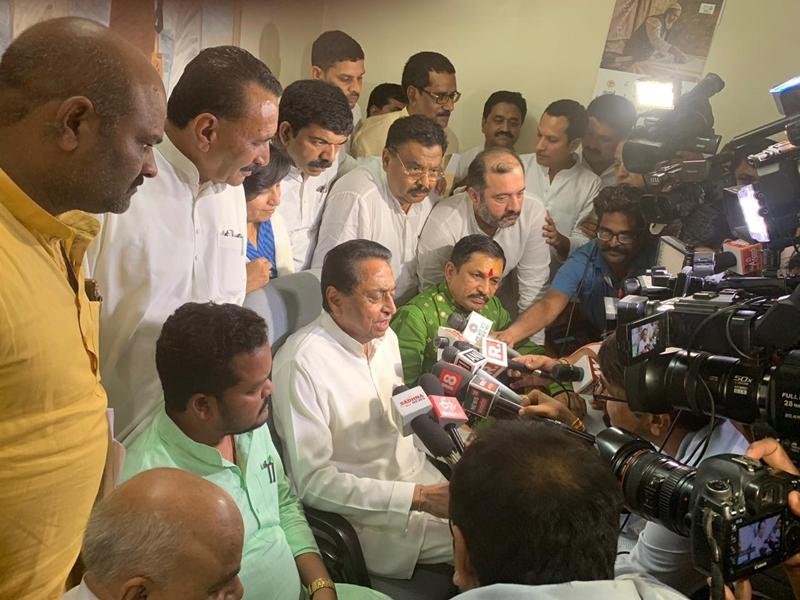 MP : भाजपा के दो विधायकों ने दिया सरकार का साथ, दंड संशोधन विधेयक पर सरकार को मिले 122 मत