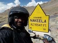 मुकेश ने 100 सीसी बाइक से पार किए दुनिया के 10 सबसे ऊंचे दर्रे