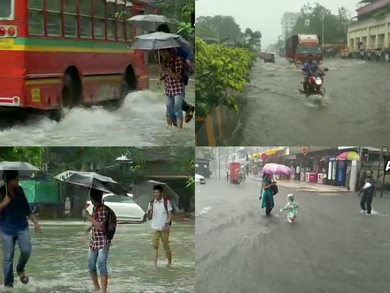 Mumbai Rains: मुंबई में फिर भारी बारिश ने रोकी रफ्तार, IMD ने जारी किया ऑरेंज अलर्ट