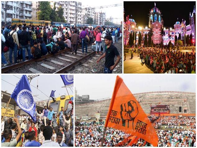 'रेल रोको' ही नहीं इन आंदोलनों के वजह से भी ठप रही है मुंबई