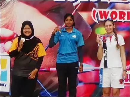 आर्चरी एशिया कप : मुस्कान किरार व प्रोमिला दाइमारी ने जीता गोल्ड