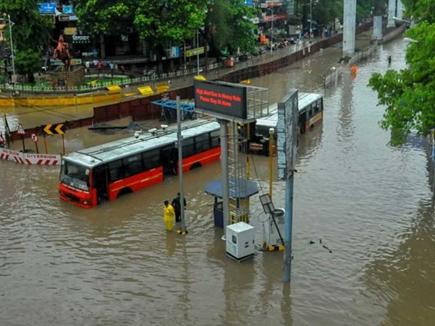बारिश: बिहार ,गुजरात,महाराष्ट्र में नदियां उफान पर, रेल यातायात प्रभाव
