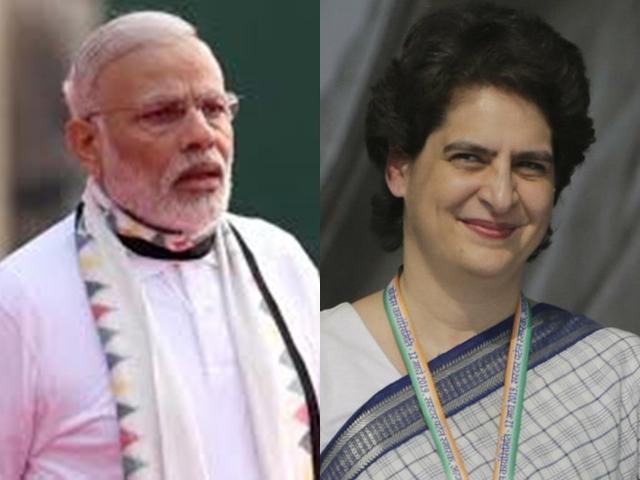 Lok Sabha Election 2019 : चुनाव आते ही हिट हुआ मोदी-प्रिंयका का स्टाइल