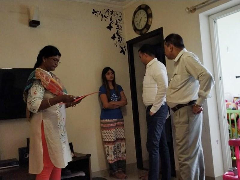 VIDEO : Nan Scam के आरोपी पूर्व अधिकारी के ठिकानों पर EOW टीम ने दी दबिश