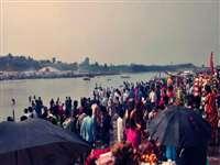 नरसिंहपुर में मकर संक्रांति की धूम