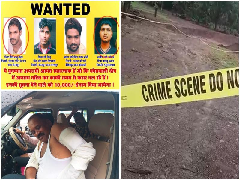 Narsinghpur Encounter : मुठभेड़ में जबलपुर का गैंगस्टर व साथी ढेर, एएसपी, टीआई व प्रधान आरक्षक घायल