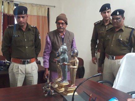 Narsinghpur Idol Theft: अष्टधातु की मूर्तियां चुराने वाले पकड़ में आए, 2 करोड़ है कीमत