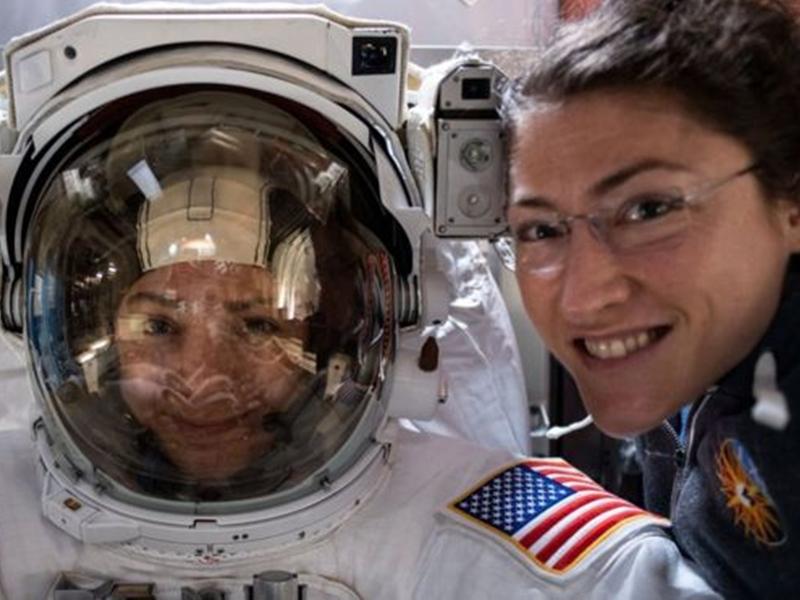 All Women Spacewalk: नासा ने रचा इतिहास, पहली बार सिर्फ महिलाओं ने की स्पेसवॉक