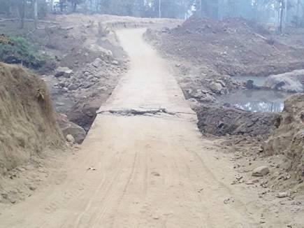 सुकमा में माओवादियों ने विस्फोट कर पुल उड़ाया