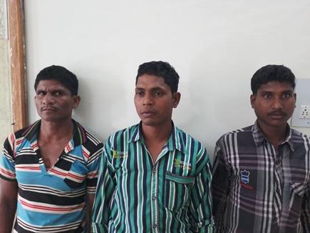नारायणपुर क्षेेत्र में तीन नक्सलियों को किया गिरफ्तार