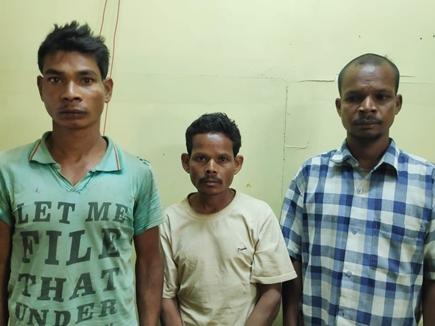 डीडी न्यूज के कैमरामैन व फोर्स पर हमले में शामिल तीन नक्सली गिरफ्तार