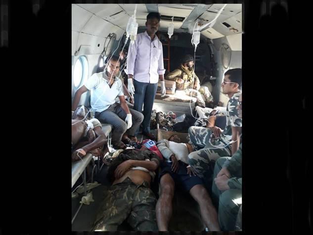 नक्सलियों ने फिर किया मौत का तांडव, 25 जवान शहीद