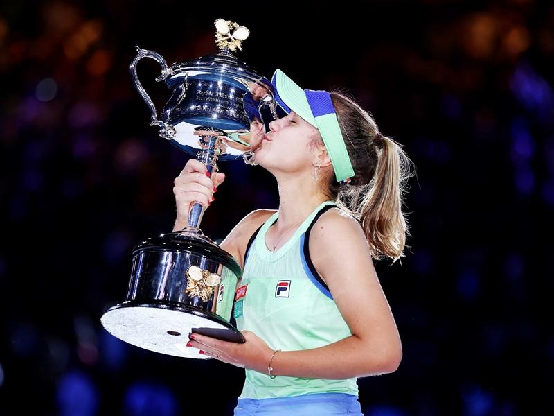 Australian Open Tennis 2020: 21 साल की सोफिया बनीं चैंपियन, फाइनल में मुगुरुजा को दी मात