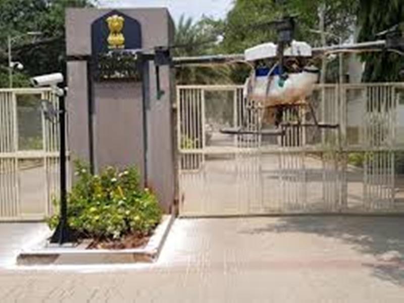 Coronavirus Bhopal News : राजभवन कंटेनमेंट मुक्त क्षेत्र घोषित, पीड़ितों के परिजनों को किया क्वारंटाइन