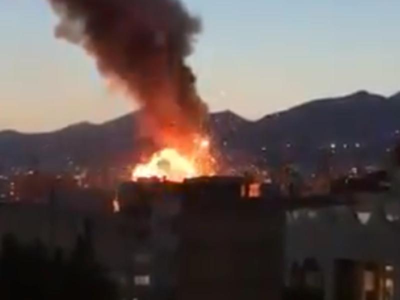 तेहरान के एक क्लीनिक में गैस लीक होने से धमाका, 19 की मौत