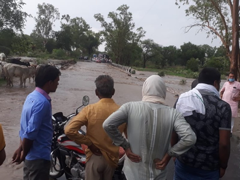 Madhya Pradesh Live Updates News : पुलिया पर पानी, इंदौर-कोटा स्टेट हाइवे दो घंटे बंद रहा
