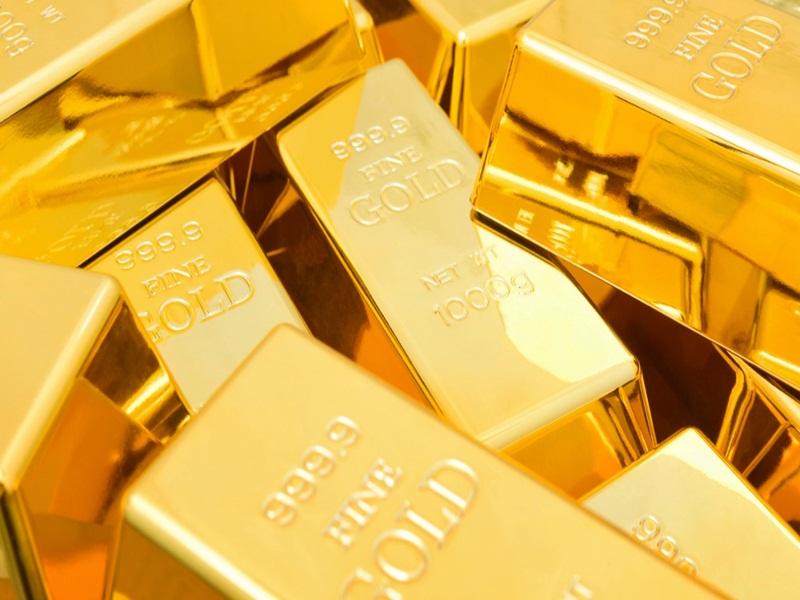Gold Price Update : सप्ताह के आखिरी दिन सोना 55000 रुपये प्रति दस ग्राम