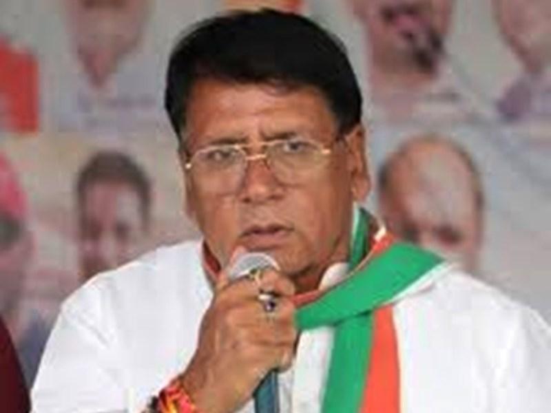 कांग्रेस विधायक पीसी शर्मा कोरोना पॉजिटिव, पार्टी की कई बैठक में हुए थे शामिल
