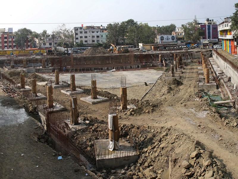 Sarwate Bus Stand Indore : धन की कमी से इंदौर के सरवटे बस स्टैंड निर्माण पर लगा ब्रेक