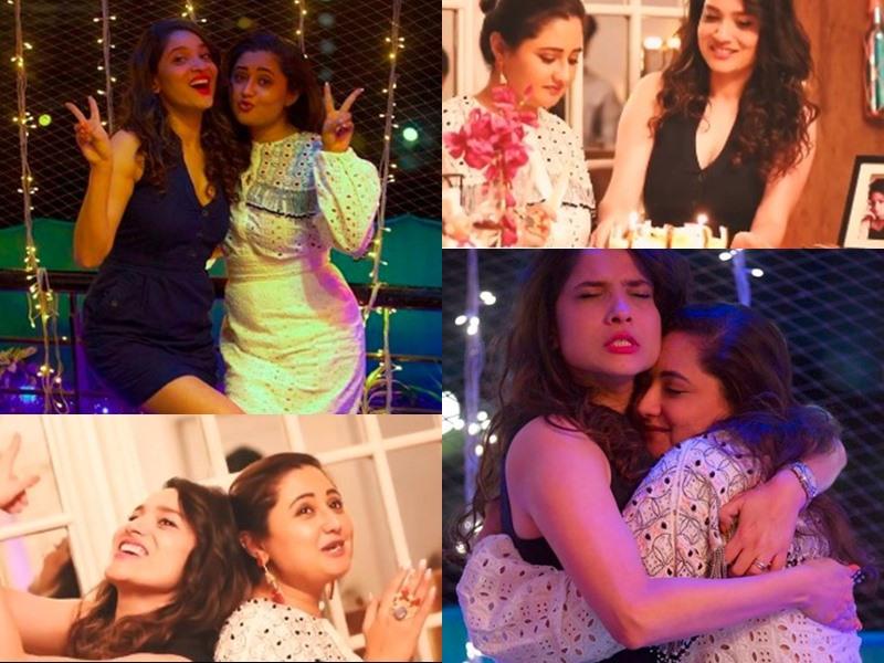 Rashami Desai और Ankita Lokhande की दोस्ती का Video हुआ वायरल