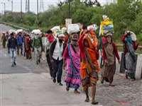 LockDown in Chhattisgarh : तीन माह काम करने के बाद खाली हाथ वापस लौटने को हुए मजबूर