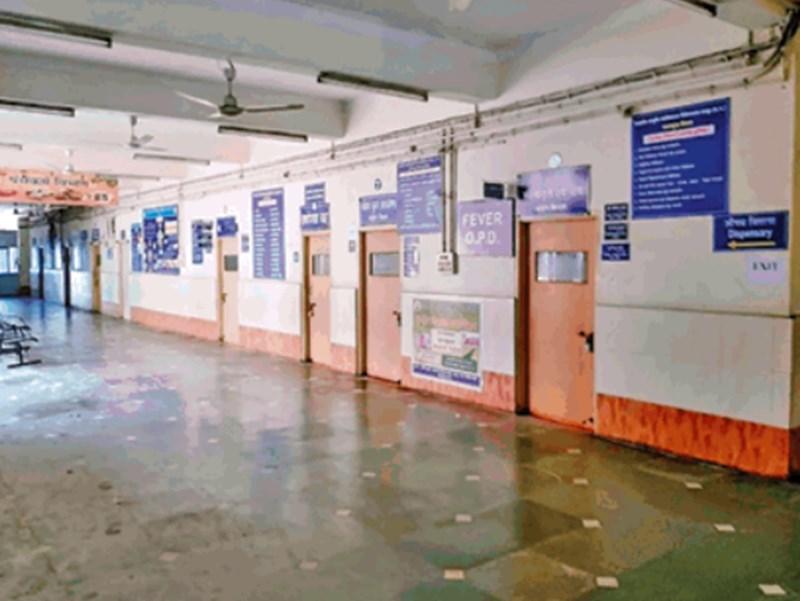रायपुर में बिना व्यवस्था के बंद करा दी आयुर्वेदिक अस्पताल की ओपीडी