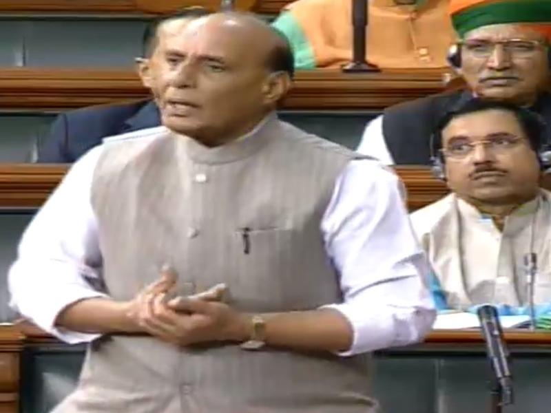 हैदराबाद हत्याकांड पर संसद में चर्चा, राजनाथ सिंह बोले- कठोरतम कानून बनाने के लिए सरकार तैयार