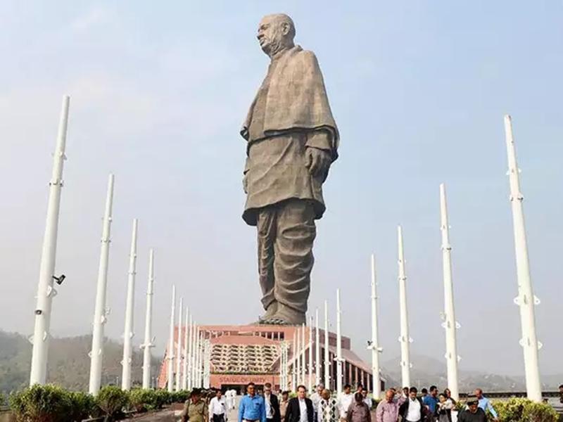 नकली टिकट लेकर देखने पहुंचा Statue of Unity, सामने आया मामला तो मचा बवाल