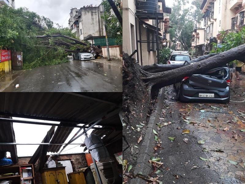 Cyclone Nisarga: निसर्ग चक्रवात पहुंचा, क्या आपने देखे रोंगटे खड़े कर देने वाले ये वीडियो और तस्वीरें