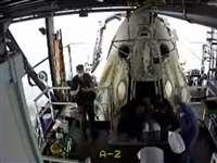 Space X का कैप्सूल लौटा, समुद्र में सुरक्षित उतरे NASA के अंतरिक्ष यात्री