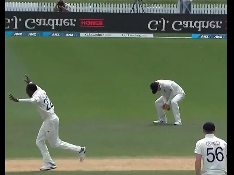 Eng vs NZ Test: डेनली ने ऐसा आसान कैच छोड़ा, निकल गई सबकी हंसी, देखिए Video