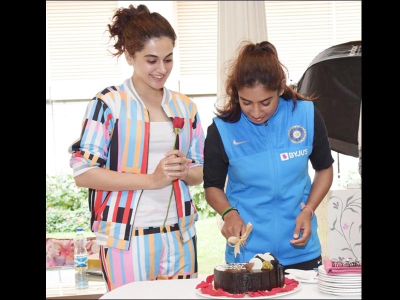 Taapsee Pannu wishes Mithali Raj on Birthday: तापसी ने मिताली को जन्मदिन की ऐसी खास बधाई दी