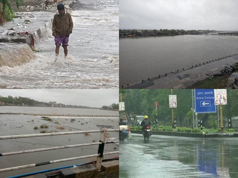 Madhya Pradesh Weather Update Live : इंदौर में तेज हवाओं से गिरे पेड़, पन्ना में बारिश से भीगा गेहूं, धार में दो की मौत