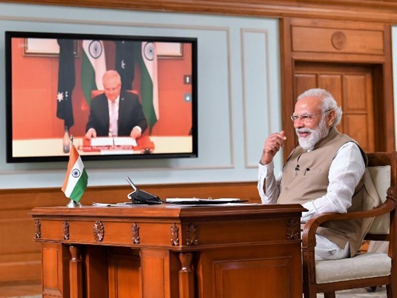 ऑस्ट्रेलियाई पीएम ने कहा- काश मैं भारत में होता, तो मोदी के गले मिलता और समोसा खाता