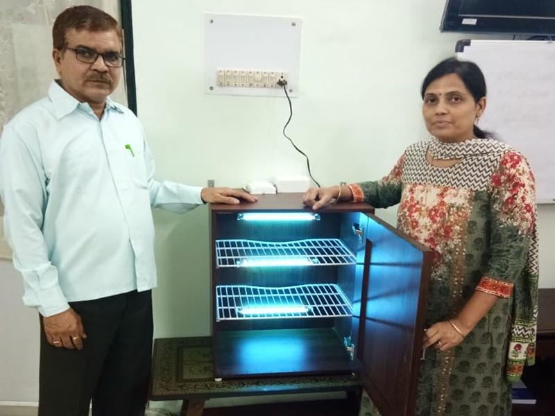 UV Rays से मारेंगे कोरोना वायरस, रायपुर में तैयार हुआ मॉडल, देखें VIDEO