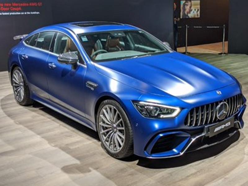 Auto Expo 2020: फास्टेस्ट कार Mercedes-AMG GT 63 लॉन्च, 2.42 करोड़ है कीमत