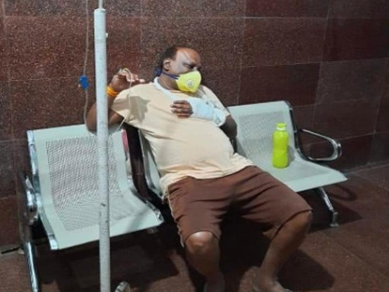 Bhopal News : शराब पीने से रोकने पर वरिष्ठ पत्रकार धनंजय प्रताप सिंह पर जानलेवा हमला