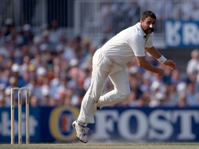 Unique Hat-trick: 31 साल पहले मर्व ह्यूज ने ली थी टेस्ट क्रिकेट की सबसे अनोखी हैट्रिक