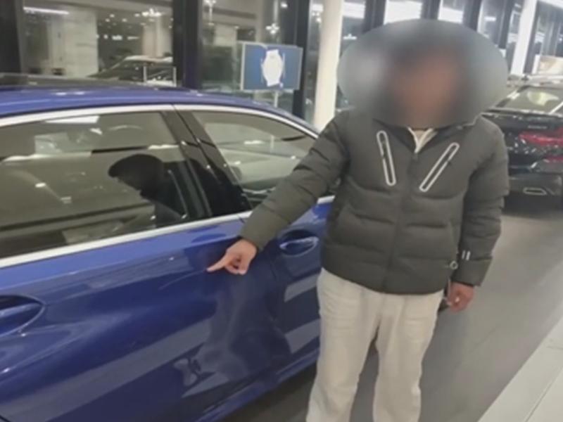 Scratched New Car : पिता खरीद दें BMW कार, इसलिए बेटे ने शोरूम में जाकर कार में मारा स्क्रैच