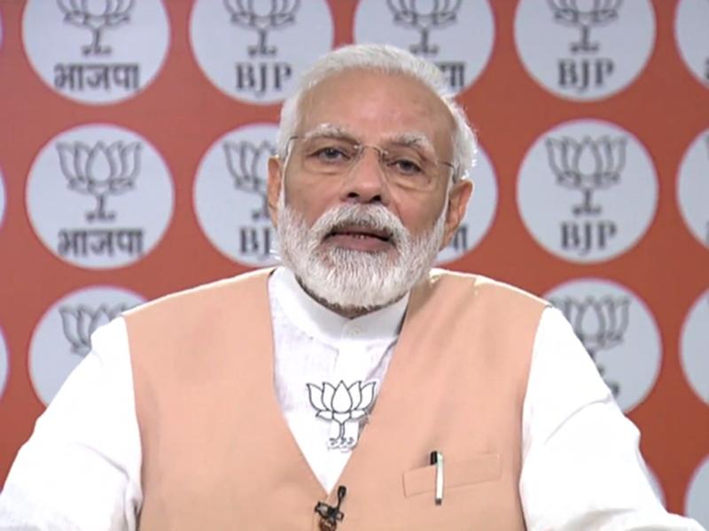 BJP के स्थापना दिवस पर PM Modi ने कार्यकर्ताओं से किए पंच आग्रह, कहा- थकना नहीं है